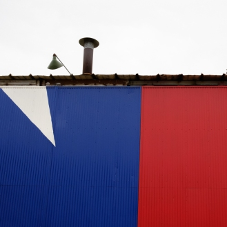Texas Flag Mural Taylor, TX